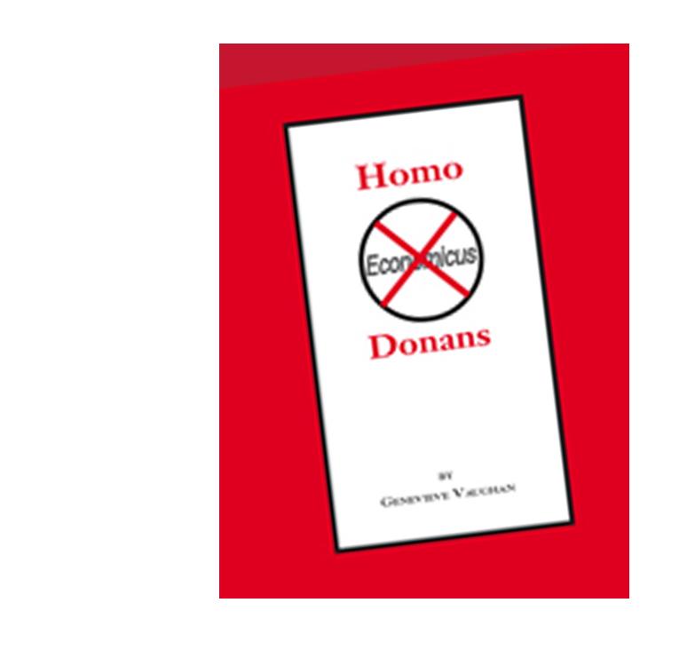 Homo Donans by Genevieve Vaughan