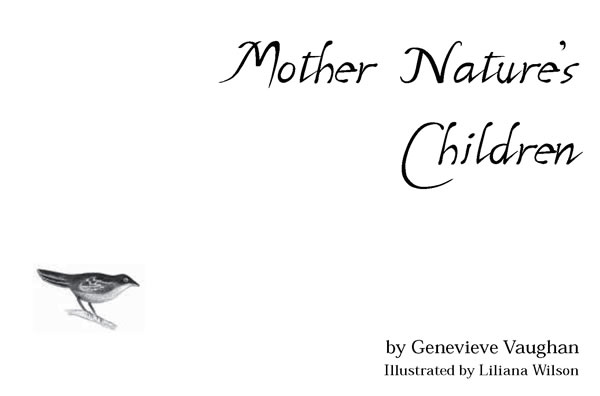 Mother Nature's Children title page